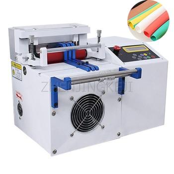 220V Fully Automatic Cut Tube Machine Heat Shrink Tube PVC Silica Gel Hose Microcomputer Cutting Machine Plastic Cut Machine недорого