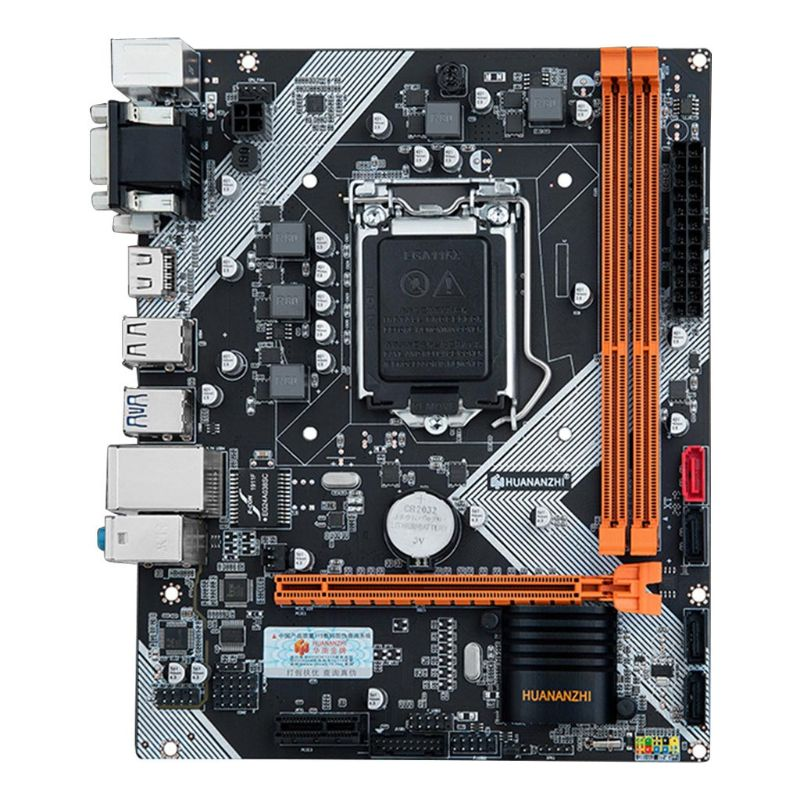 Huananzhi B75 LGA1155 Desktop Motherboard para i3 i5 i7 CPU Suporte de Memória ddr3