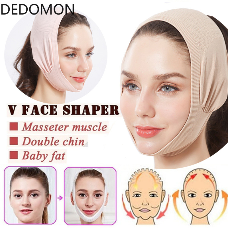 Double Chin Face Bandage Face-lift Tool Wrinkle Removal Device Thin Face Bandages Face Correction Sleep Mask Facial Slimming