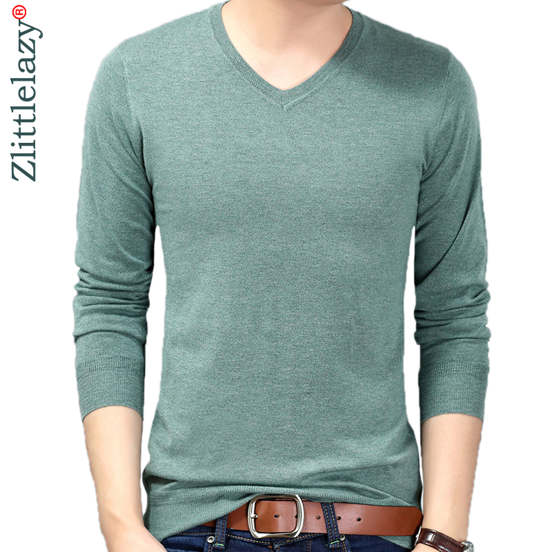 2019 new solid pull mens sweaters casual thin male pullover sweater slim fit men blusa masculina clothes jersey sweter man 62189