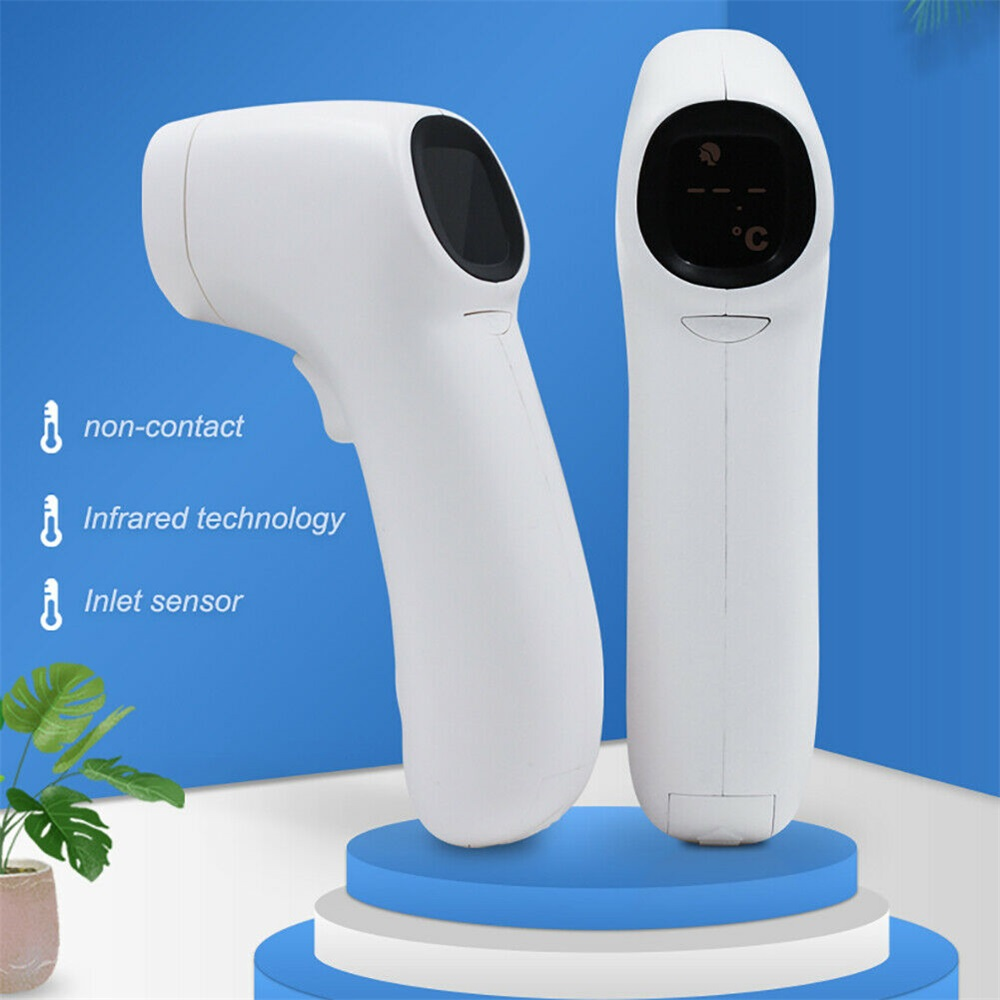 Digital LCD Body Forehead Thermometer Infrared Temperature Measurement Test Gun