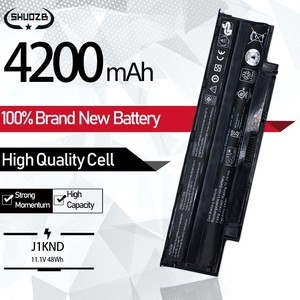 Laptop Battery For Dell Inspiron M501R M511R N7110 M5030 N4010 N3010 N3110 N4050 N4110 N5010 N5020 N5110 N7010D J1KND 48Wh 11.1V