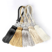 2 шт Кристалл бисер кисточка с бахромой затягивающей веревочки Плетеный Craft кисточки кулон