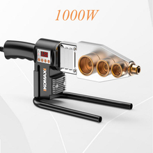 220V Water Pipe Fuser AC Plug 800W Machine For Welding Pvc Pipe Ppr Tube Welder With Digital Display Device For Plastic