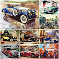 5D Diamond Painting Car Motorcycle Full Drill Square Diamond Embroidery Landscape Cross Stitch Kits Handwork Home Decor Gift