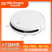 Xiaomi Mijia Mi Robot Vacuum Cleaner G1 Sweeping Mopping Cleaner 2200pa Cyclone Suction Smart Planned For Home Cordless Washing