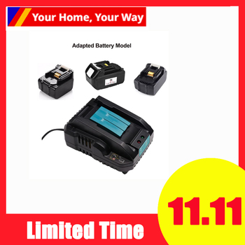DC18RC 14.4V 18V 4A Li-Ion Battery Charger For Makita BL1830 BL1840 BL1850 BL1815 BL1430 Power Tool US Plug комплект makita аккумулятор bl1830b li ion 18v 3ah зу dc18rc 191a25 2