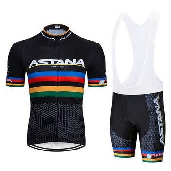 Astana 2019 camiseta de Ciclismo MTB Ropa de bicicleta de montaña para...