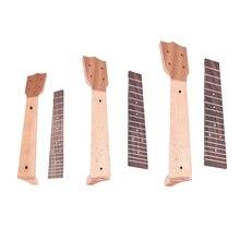 Ukulele Neck Fretboard for Concert 21 23 26 Inch Ukelele Guitar Ukulele Parts