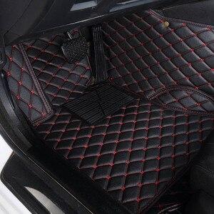 HeXinYan пользовательские автомобильные коврики для MG MG7 MG3 MG5 GT ZS MG6 HS автомобильные аксессуары для стайлинга автомобиля