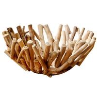 Placa de madeira estilo nórdico rural rústico decoração para casa sala estar decoração cesta frutas placa|Cestos de armazenamento| |  -