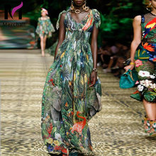 Подиумное летнее платье для женщин с бантом на ремешке открытой