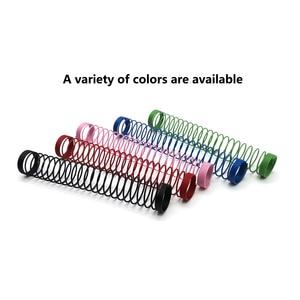Разноцветные пружины для кальяна, силиконовый шланг для кальяна, весна Chicha Nargile Narguile, аксессуары, Прямая поставка, оптом