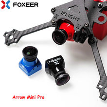 Foxeer Arrow Mini Pro 1.8mm/2.5mm 650TVL WDR FPV Camera Built-in OSD with Bracket NTSC/PAL for FPV Racing Drone(China)