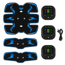 Body Slim Wireless EMS Trainer Abdominal Muscle Stimulator Slimming Vibration Massager Electric Weight Loss Fitness Exercise