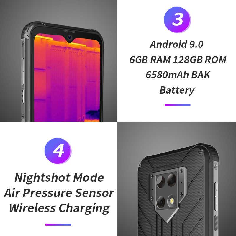 Blackview BV9800 Pro Globale Prima di Imaging Termico Smartphone 6GB di RAM 128GB di ROM Helio P70 Android9.0 IP68 Impermeabile Mobile telefono