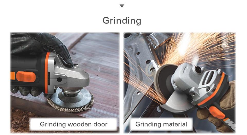 Grinding Wooden Door