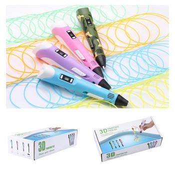 Bolígrafo de impresión 3D con pantalla Digital LCD para niños, bolígrafo inteligente...