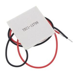 Image 4 - 10 Stuks Nieuwe De Goedkoopste Prijs TEC1 12706 12V 6A Tec Thermo elektrische Koeler Peltier (TEC1 12706)