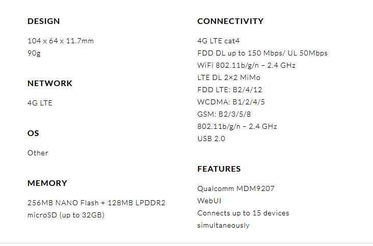 Desbloqueado Alcatel LinkHub mw41 4g mifi router con tarjeta SIM router wifi 4g wifi portátil 4g router de módem mw41tm mw41pm