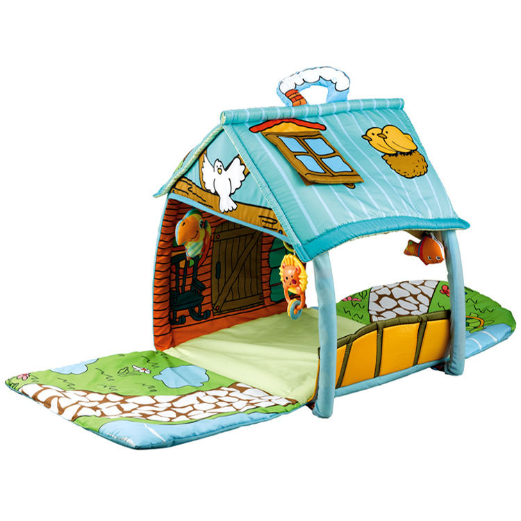 Kid's Play Mat The New Big House Puzzle Early Education Baby Climbing Mat Multifunctional Toy Fitness Rack