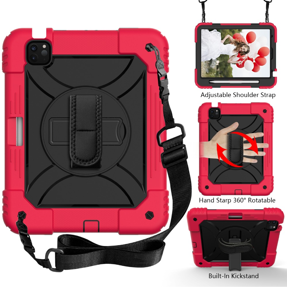 Air Kids iPad Case Tablet Hybird for 3 Armor iPad 2020 10.9 4 Layers Case Shockproof For