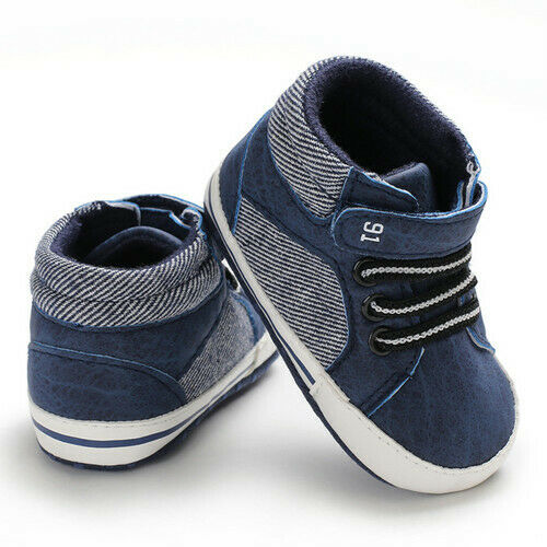 2019 Newborn Infant Baby Boy Flat Comfortable Casual Crib Shoes Toddler Girls Sneakers
