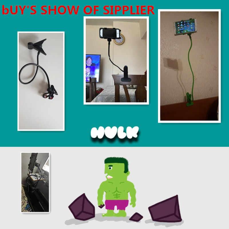 Frauen Männer Faul Halterung Flexible 360 Clip Mobile Handy Halter Faul Bett Desktop Halterung Montieren Stand Schlafzimmer Gym Büro