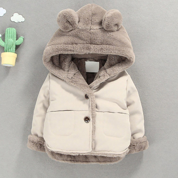 Winter Kids Jackets for Baby Boys Thick Coats Girls Warm Hooded Velvet Jacket Children Outerwear 1-6 Years Toddler Girl Snowsuit 2020 new boys jackets parka baby outerwear childen winter jackets for boys down jackets coats warm kids baby thick cotton down