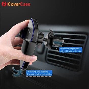 Быстрое беспроводное зарядное устройство для Huawei Mate 20 Pro зарядный коврик Qi приемник автомобильный аксессуар для телефона, держатель для Mate ...