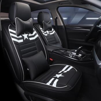 Car Seat Cover Auto Seats Covers Vehicle Chair Leather Case for KiaRio 2018 Rio K2 3 4 2017 Sorento 2005 2007 2011 2013 2016