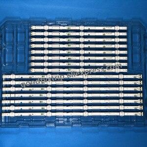 """Image 2 - 5 комплектов = 40 шт. светодиодный фонарь с подсветкой 7 ламп для Sam sung 43 """"TV 2015 SVS43 FCOM FHD DOE B UA43J51SW UN43J5000 CY JJ043BGAV1H Un43j5200"""