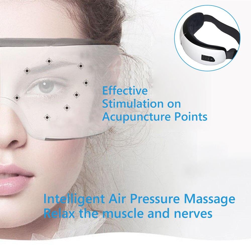 presure elétrica quente compressa terapia óculos cuidados com os olhos