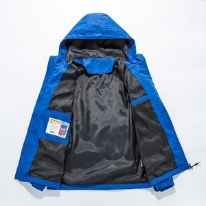 Image 4 - 2019 Homme מעיל גברים מעילים חדשים בתוספת גודל S 5XL מוצק צבע סלעית דק מעיל מעיל רוח windproof עמיד למים חיצוני גברים