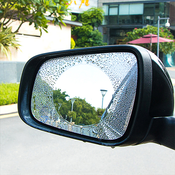 Car Rainproof Film For BMW E46 E60 E90 E30 E93 F30 F10 1 3 5 7 Series 2 PCS Anti Rain Rearview Mirror Waterproof Sticker image