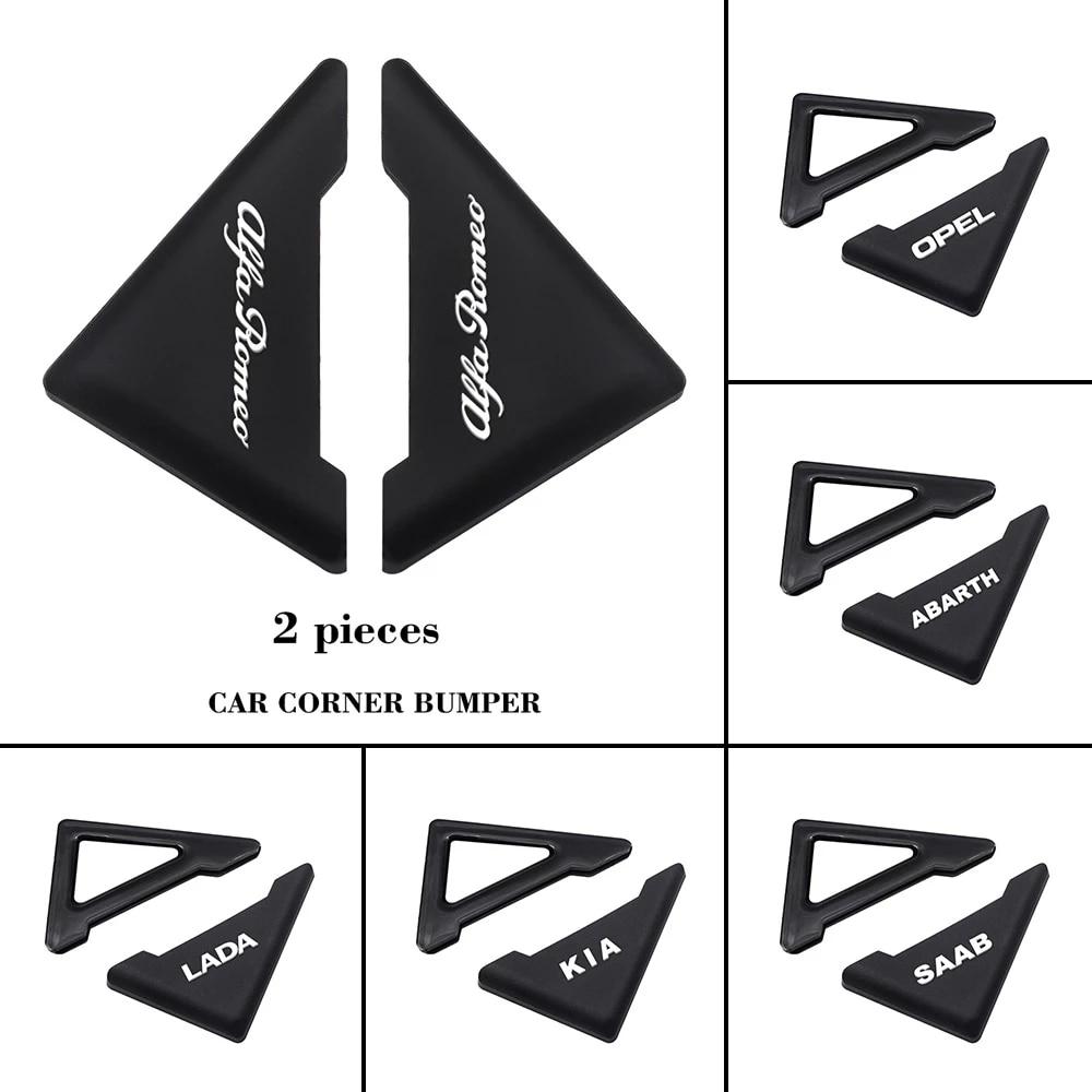 Car Door Corner Cover Silicone Anti-scratch Protector For Mitsubishi Ralliart Outlander Mirage Lancer Evolution 10 Eclipse L200
