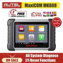 Autel MaxiCOM MK808 OBD2 Scanner All System Car Diagnostic Tool Automotive Tools Auto Code Reader Key Coding CRP 909X CRP909