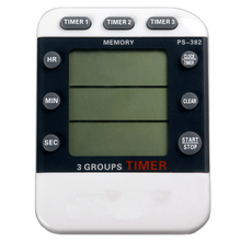 3 Channel Triple Darkroom Timer Counter Film Developing Countdown Clock