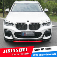 Para BMW X3 Body kit spoiler 2018 2020 Para BMW X3 G01HS QC ABS Rear lip spoiler traseiro frente bumper Difusor Bumpers Protector|Kit de carroceria| |  -