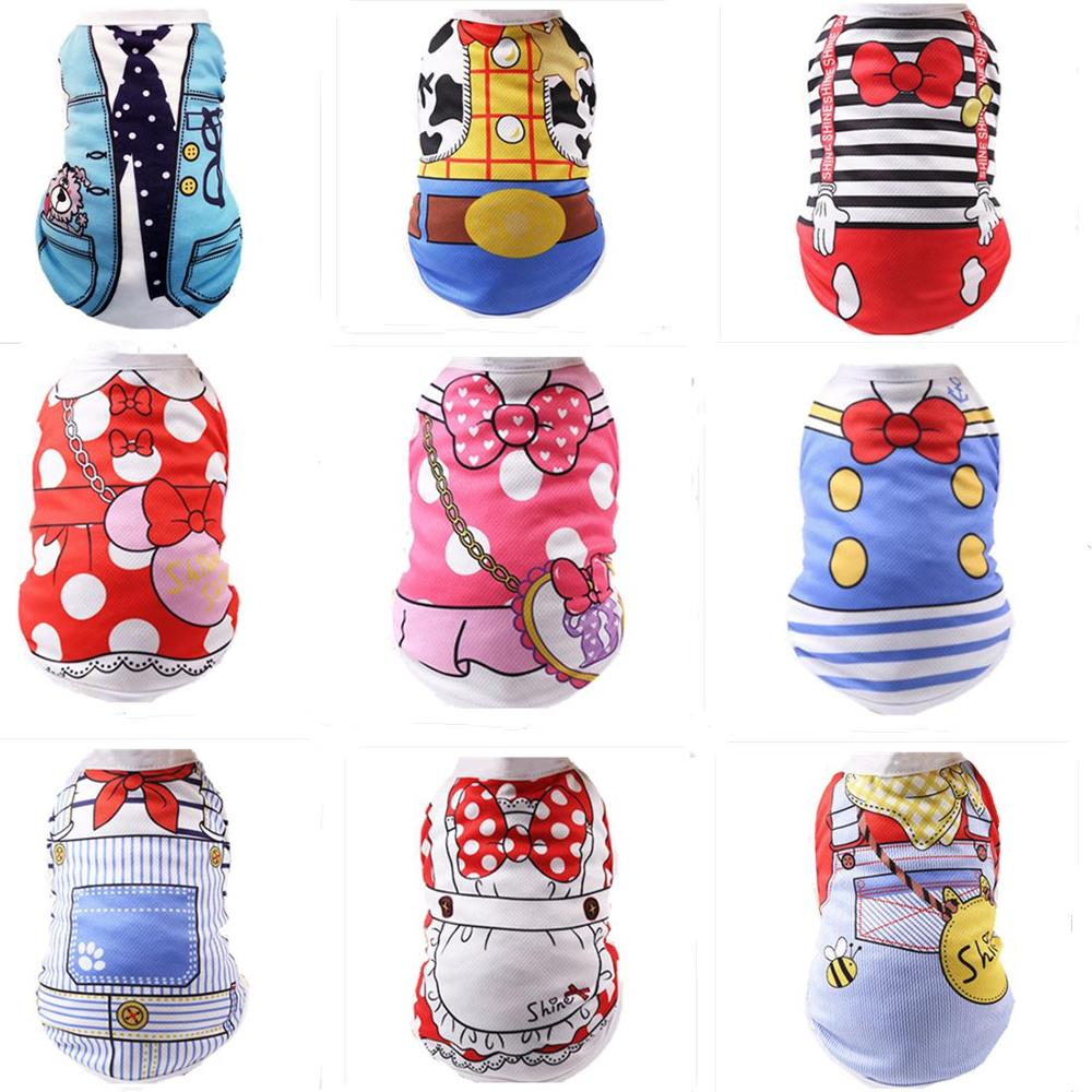 Summer font b Pet b font Dog Vest Clothes Mesh Puppy Cat Clothing for Small Dogs