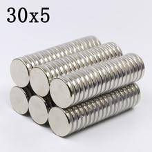 15/20Pcs 30x5 Neodymium Magnet…
