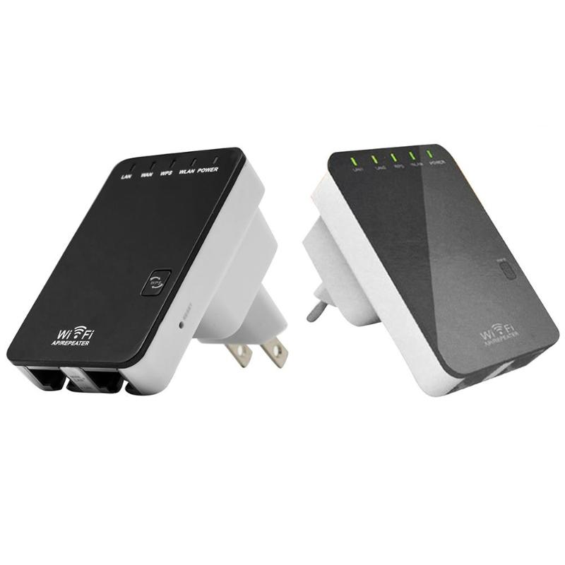 Wifi Repeater Ap-Router Universal Amplifier Signal-Range-Extender 300mbps Wireless LAN