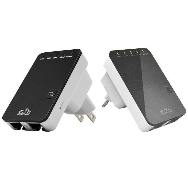 Universal 300Mbps Wifi Repeater Amplifier WAN LAN Wireless AP Router Wi-Fi Signal Range Extender