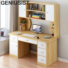Stojący Schreibtisch Tafelkleed meble biurowe Escritorio Mueble Mesa podstawka do laptopa biurko komputerowe stół z półką tanie tanio GENIUSIST NONE HOME CHINA Laptop biurko