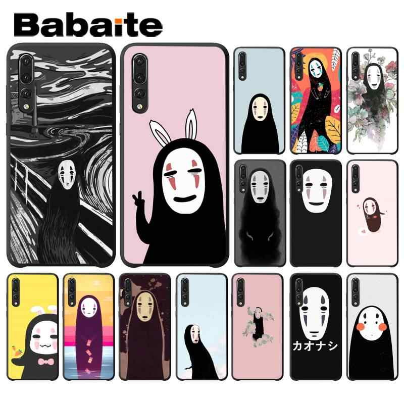 Babaite Spirited Away Ghibli Miyazaki Anime Noface Phonecover untuk Huawei P9 P10 Plus Mate9 10 Mate10 Lite P20 Pro Honor10 view10