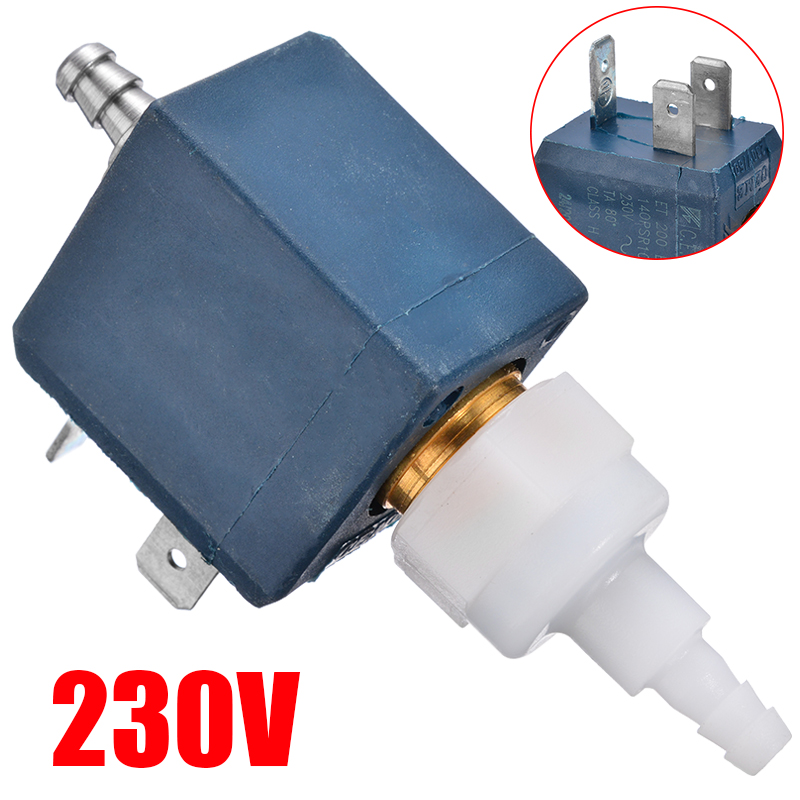 1pc New Ceme Model ET200BR ET 200 BR Water Pump Electromagnetic Valve 230V 50Hz Mini Water Valve Coffee Machine Water Valve