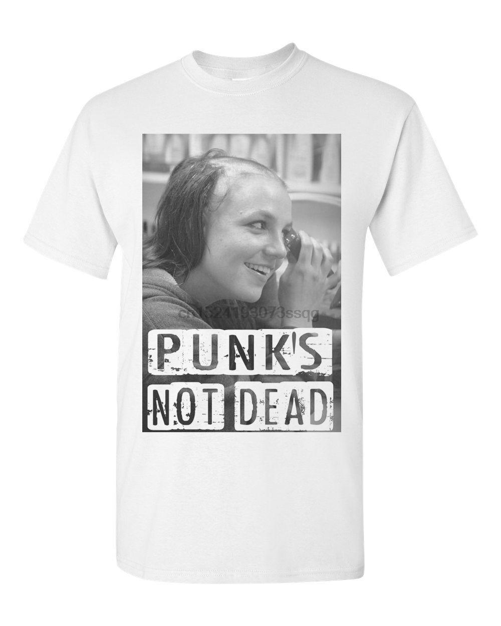 Damen T-Shirt Punks not Dead Geschenk Lustig SC xx 027