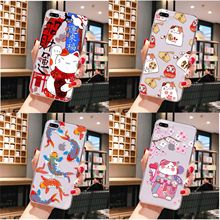 Human organ goldfish lucky cat Custom Photo Soft Phone Case for iPhone 11 pro XS MAX 8 7 6 6S Plus X 5 5S se 2020 XR cover black cover lovely cat for iphone x xr xs max for iphone 8 7 6 6s plus 5s 5 se super bright glossy phone case