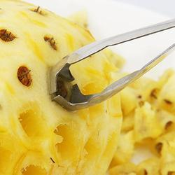 Stainless Steel Cutting Knife Pineapple Peeler Practical Remover Household Clip Kitchen Fruit Pineapple Tools Seed Pineappl B5Y9