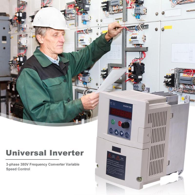 Convertisseur de fréquence 3 phases 380V durabilité quotidienne onduleur de Protection de Module d'alimentation Intelligent fournitures domestiques nécessaires